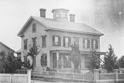 Home Built by Alonzo White, circa 1848